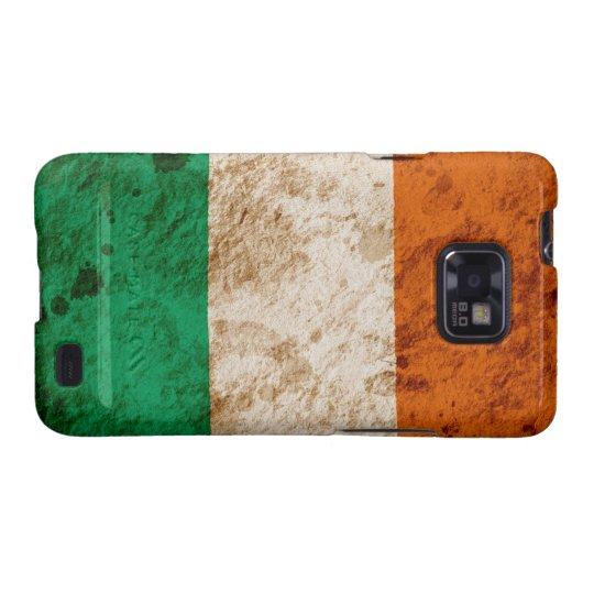 Rugged Irish Flag Samsung Galaxy S2 Case