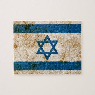 Rugged Israeli Flag Jigsaw Puzzles