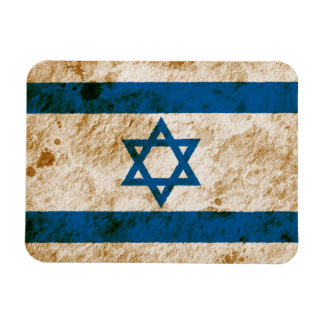 Rugged Israeli Flag Magnet