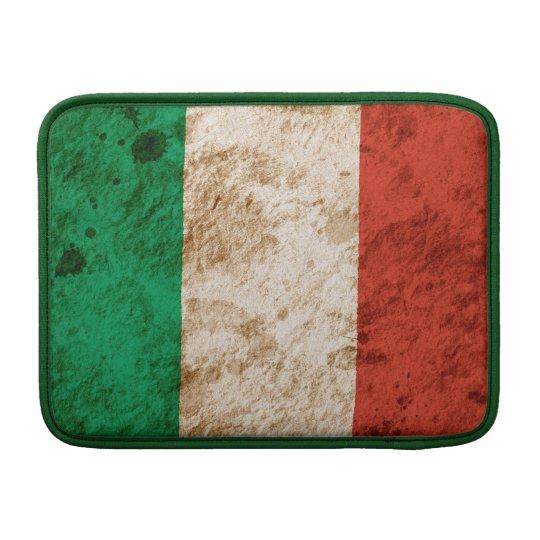 Rugged Italian Flag MacBook Air Sleeve