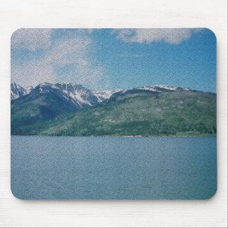 Rugged Jackson Lake Mouse Pad