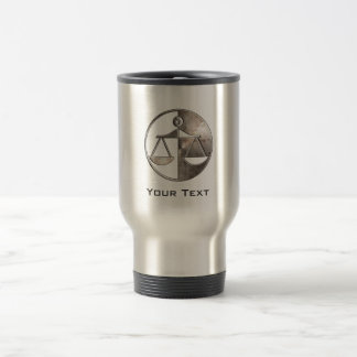 Rugged Justice Scales 15 Oz Stainless Steel Travel Mug