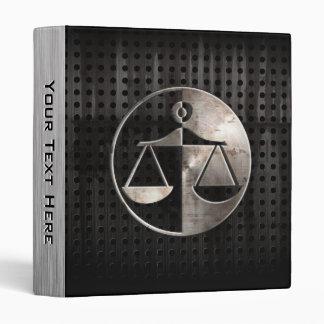 Rugged Justice Scales Vinyl Binders