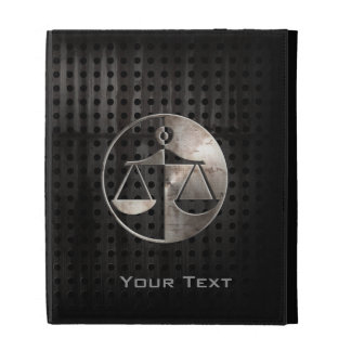 Rugged Justice Scales iPad Folio Cover