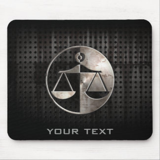 Rugged Justice Scales Mouse Pad
