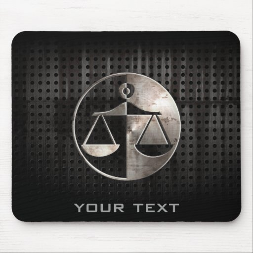 Rugged Justice Scales Mousepad
