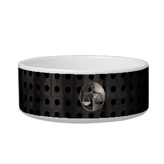 Rugged Justice Scales Cat Food Bowl
