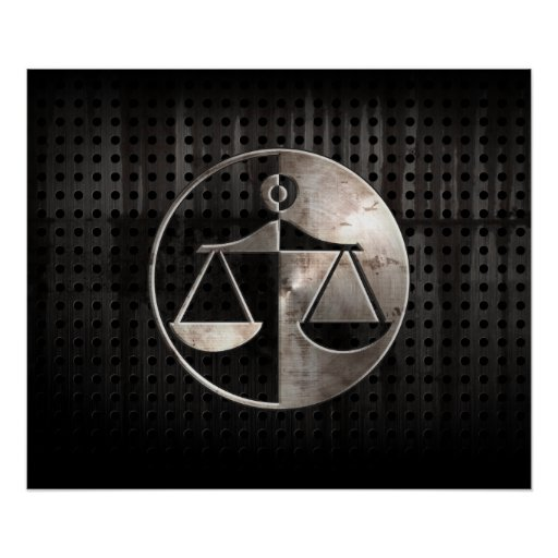 Rugged Justice Scales Posters