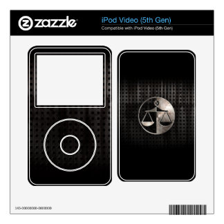 Rugged Justice Scales Skin For iPod Video 5G