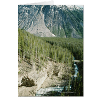 Rugged landscape in Banff National Park, Canada Card