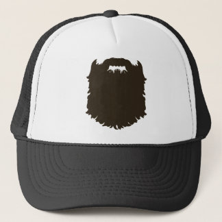 Rugged manly beard trucker hat