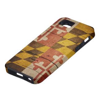 Rugged Maryland Flag iPhone 5 Case