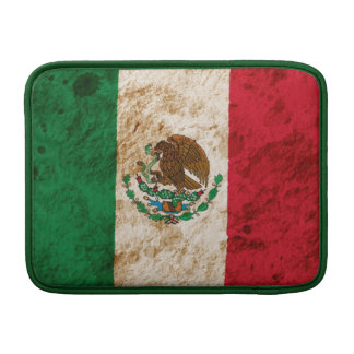 Rugged Mexican Flag Sleeve For MacBook Air