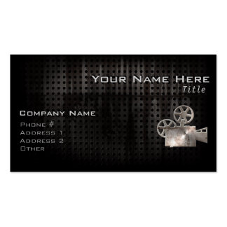 Rugged Movie Camera Double-Sided Standard Business Cards (Pack Of 100)