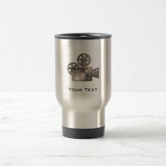 Rugged Movie Camera Coffee Mug
