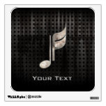 Rugged Music Note Wall Decor