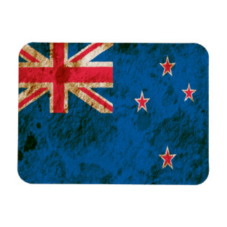 Rugged New Zealand Flag Vinyl Magnet