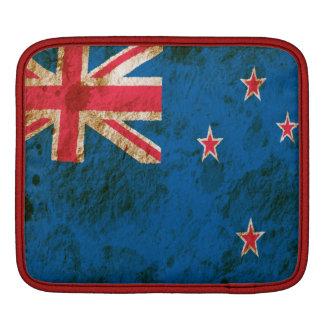 Rugged New Zealand Flag Sleeve For iPads