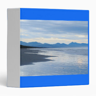 Rugged Oregon Coastal Beach Ocean Sea 3 Ring Binder