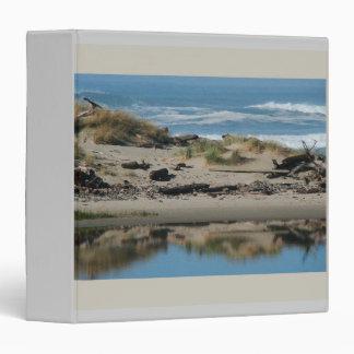 Rugged Oregon Coastal Beach Ocean Sea Binder