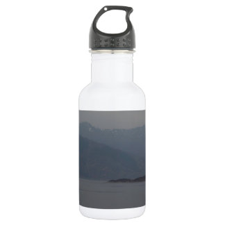 Rugged outdoors and waters of a Loch Water Bottle