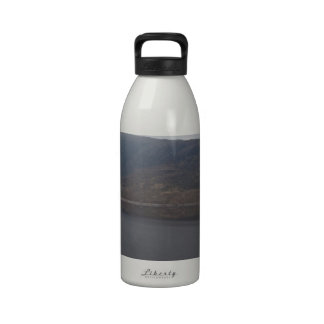 Rugged outdoors in Scottish Highlands Drinking Bottle