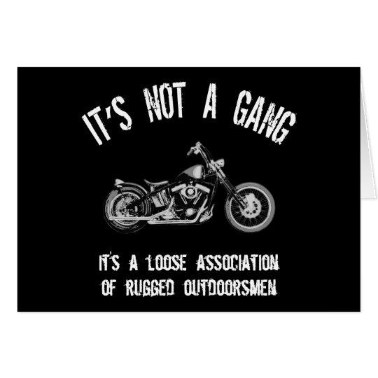 Rugged Outdoorsmen Card