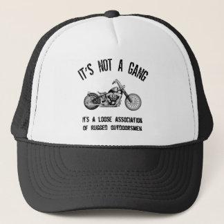 Rugged Outdoorsmen Trucker Hat