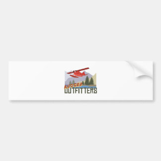 Rugged Outfitters Bumper Sticker