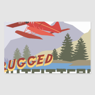 Rugged Outfitters Rectangular Sticker