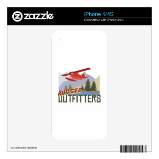 Rugged Outfitters Skin For iPhone 4S