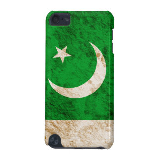 Rugged Pakistani Flag iPod Touch (5th Generation) Cover