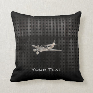 Rugged Plane Throw Pillow
