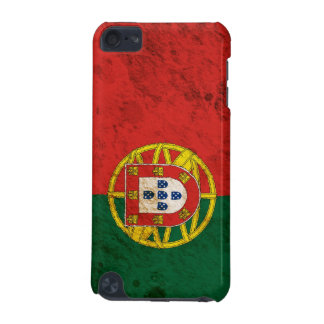 Rugged Portuguese Flag iPod Touch 5G Cases
