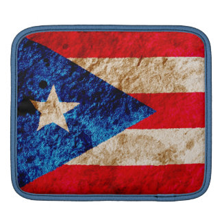 Rugged Puerto Rican Flag Sleeves For iPads