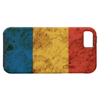 Rugged Romanian Flag iPhone SE/5/5s Case