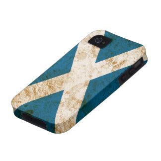 Rugged Scottish Flag iPhone 4/4S Cases