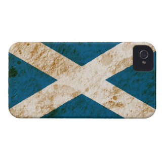 Rugged Scottish Flag iPhone 4 Cover