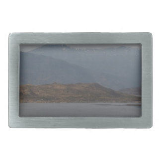 Rugged shoreline and waters of a Loch Belt Buckle