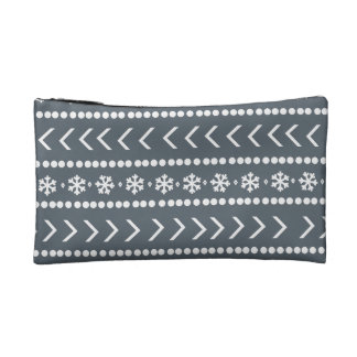 Rugged Snow make-up pouch - grey Cosmetic Bag