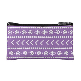 Rugged Snow make-up pouch - purple Makeup Bag