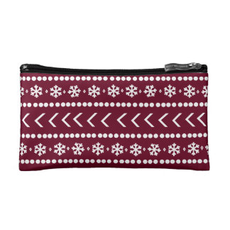 Rugged Snow make-up pouch - red Makeup Bag