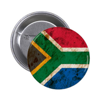 Rugged South African Flag Buttons
