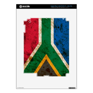 Rugged South African Flag iPad 3 Decals