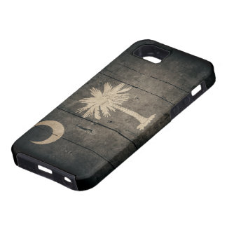 Rugged South Carolina Flag iPhone 5 Case