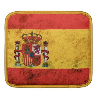 Rugged Spanish Flag Sleeve For iPads