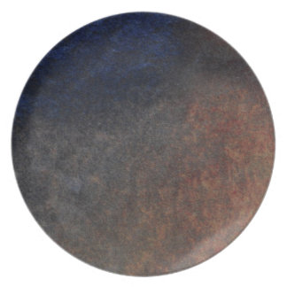 Rugged Stone Organic Textures Designer Plate