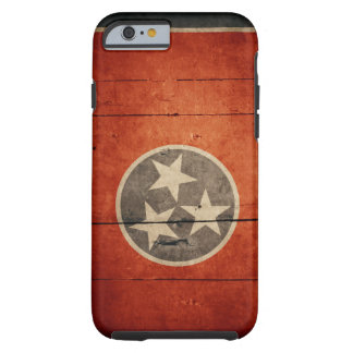 Rugged Tennessee Flag iPhone 6 case