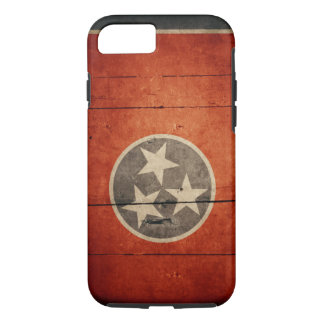 Rugged Tennessee Flag iPhone 7 case