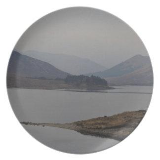 Rugged terrain of a Loch Plate